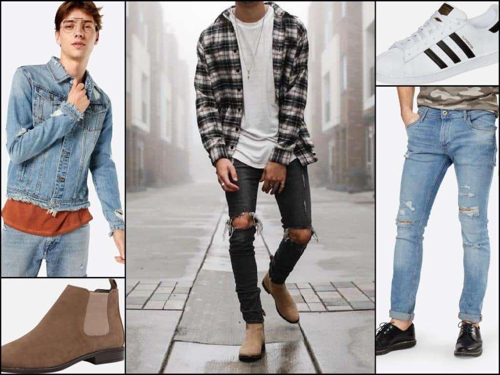 Destroyed Look Outfit Männer Mann Blog Lifestyle