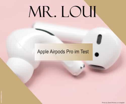 Apple Airpods Pro mit Geräuschunterdrückung im Test